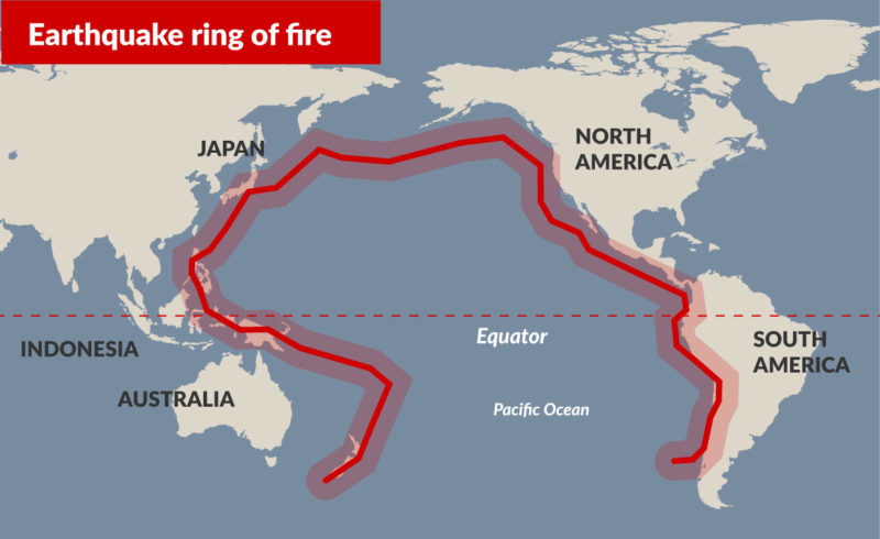 The Pacific S Ring Of Fire Is On Fire Beyond Infinity Podcasts