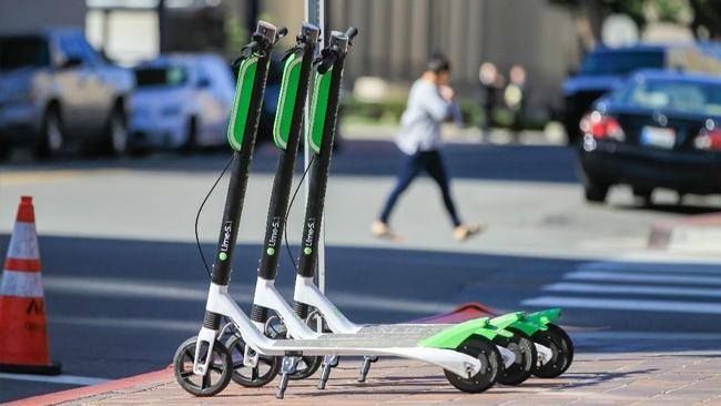 Electric Scooters For Hire Clogging Up Us Cities Beyond